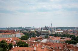 Terasa U Zlaté studně, Prague - The View