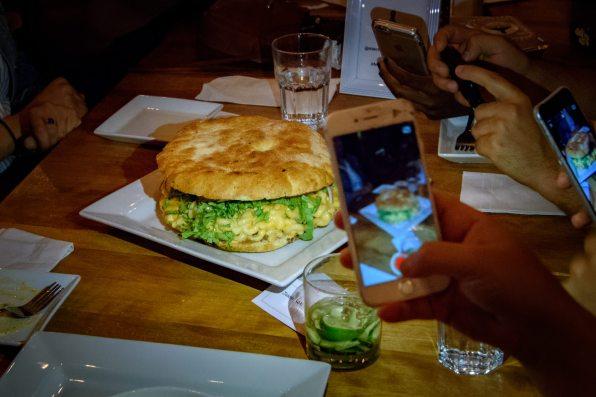 Macbar et fromage - Le monstre mac, la vedette de la soirée
