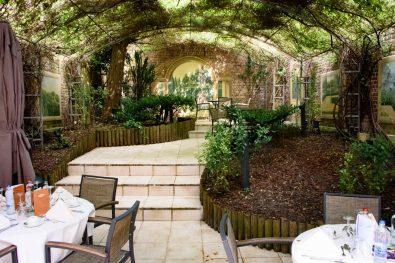 Hôtel à Bruxelles - Le Châtelain - La terrasse couverte