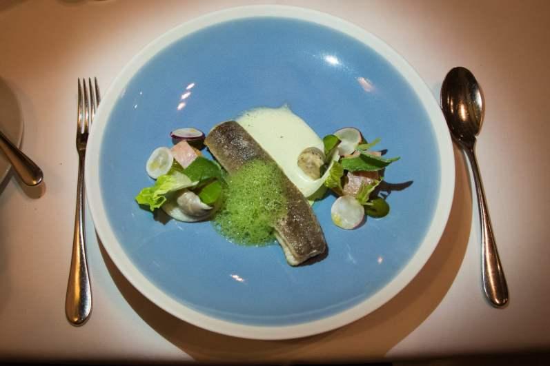 Bistro Margaux, restaurant étoilé, Bruxelles: Anguille au vert
