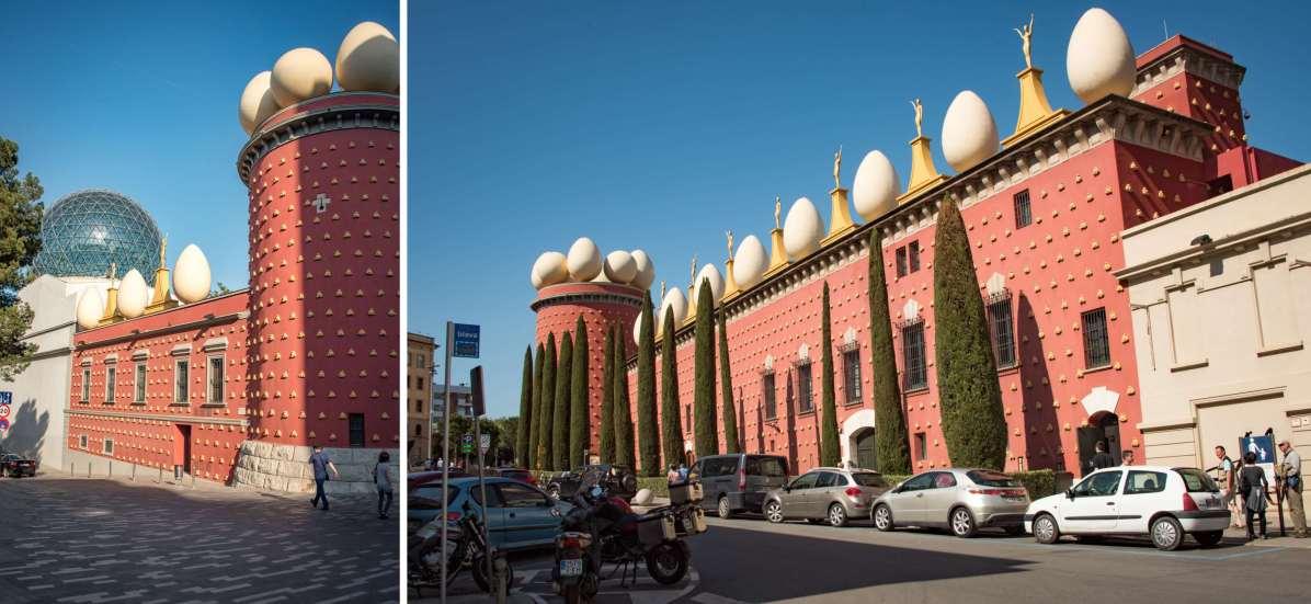 Costa Brava: Figueres et le Théâtre-musée Dali