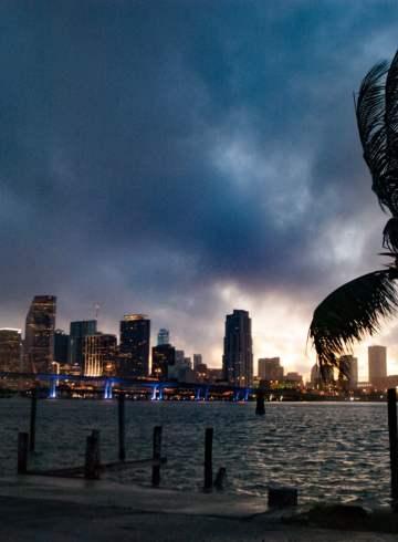 The Miami Skyline, Florida