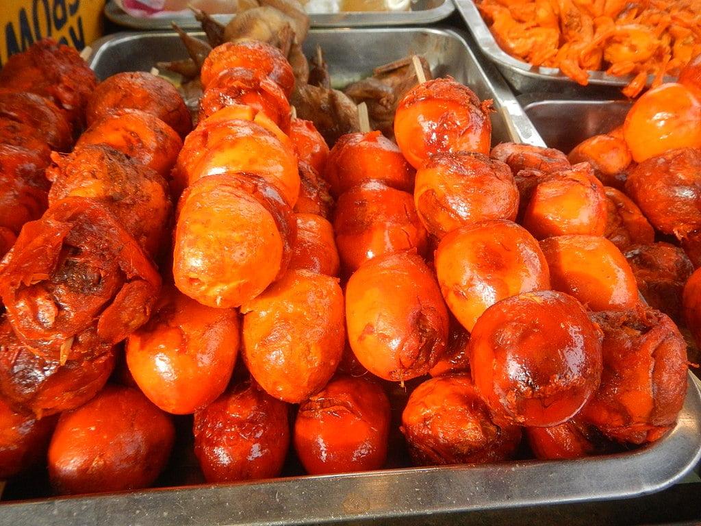Filipino street food: Balut