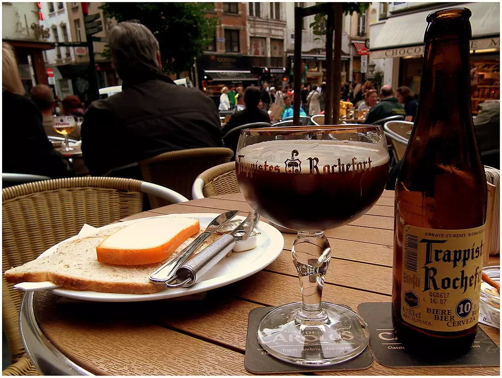 Beer in Brussels