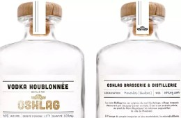 La vodka houblonnée d'Oshlag - Photo Courtoisie