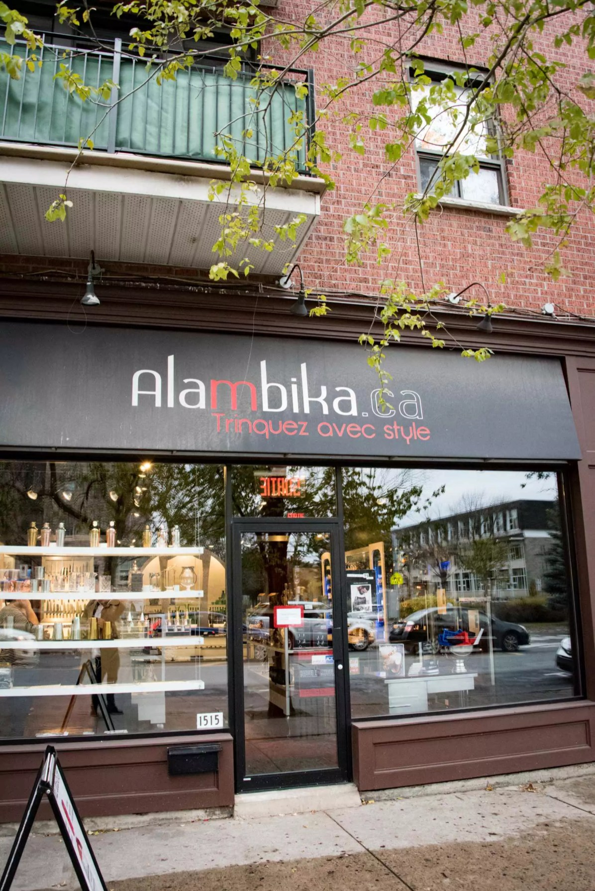 Boutique Alambika, Montréal