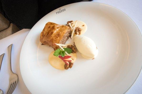 Pageou, restaurant à Munich: Strudel