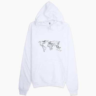 The hoodies of http://Foodie.Voyage