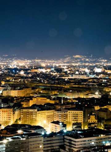 La Pergola, Rome - Rome, from La Pergola - historical rome