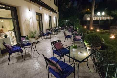 Assaje Restaurant in Rome - Outside