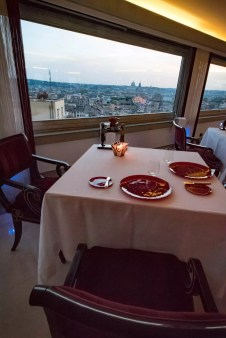 Imago Restaurant in Hassler Hotel Rome - The View