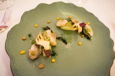 Imago Rome - le plat de pétoncle