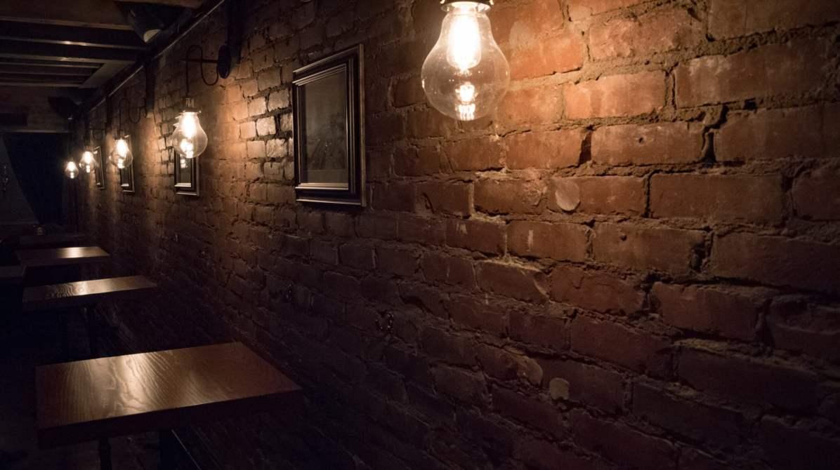 Le Coldroom, Montréal - Brique et bois