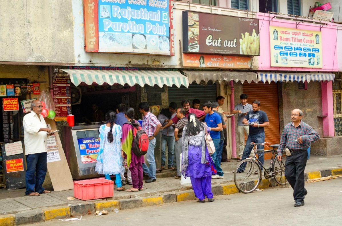 Sur VV Puram Food Street - Photo Cédric Lizotte