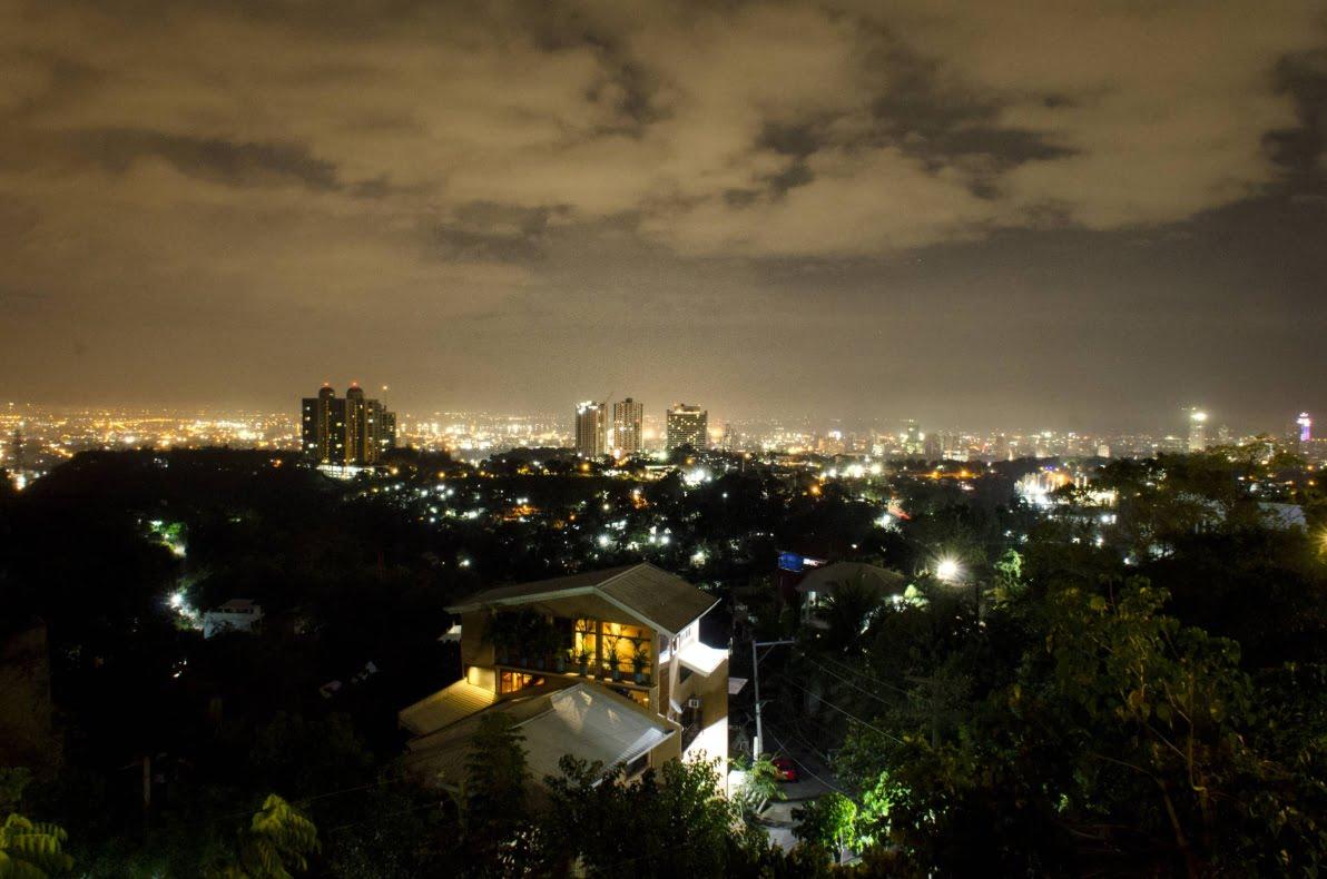 La ville de Cebu, aux Philippines