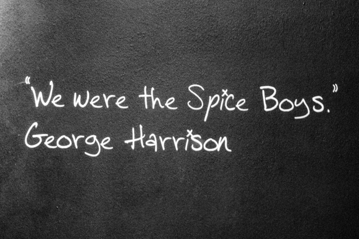 Beatles Story: A quote by George Harrison