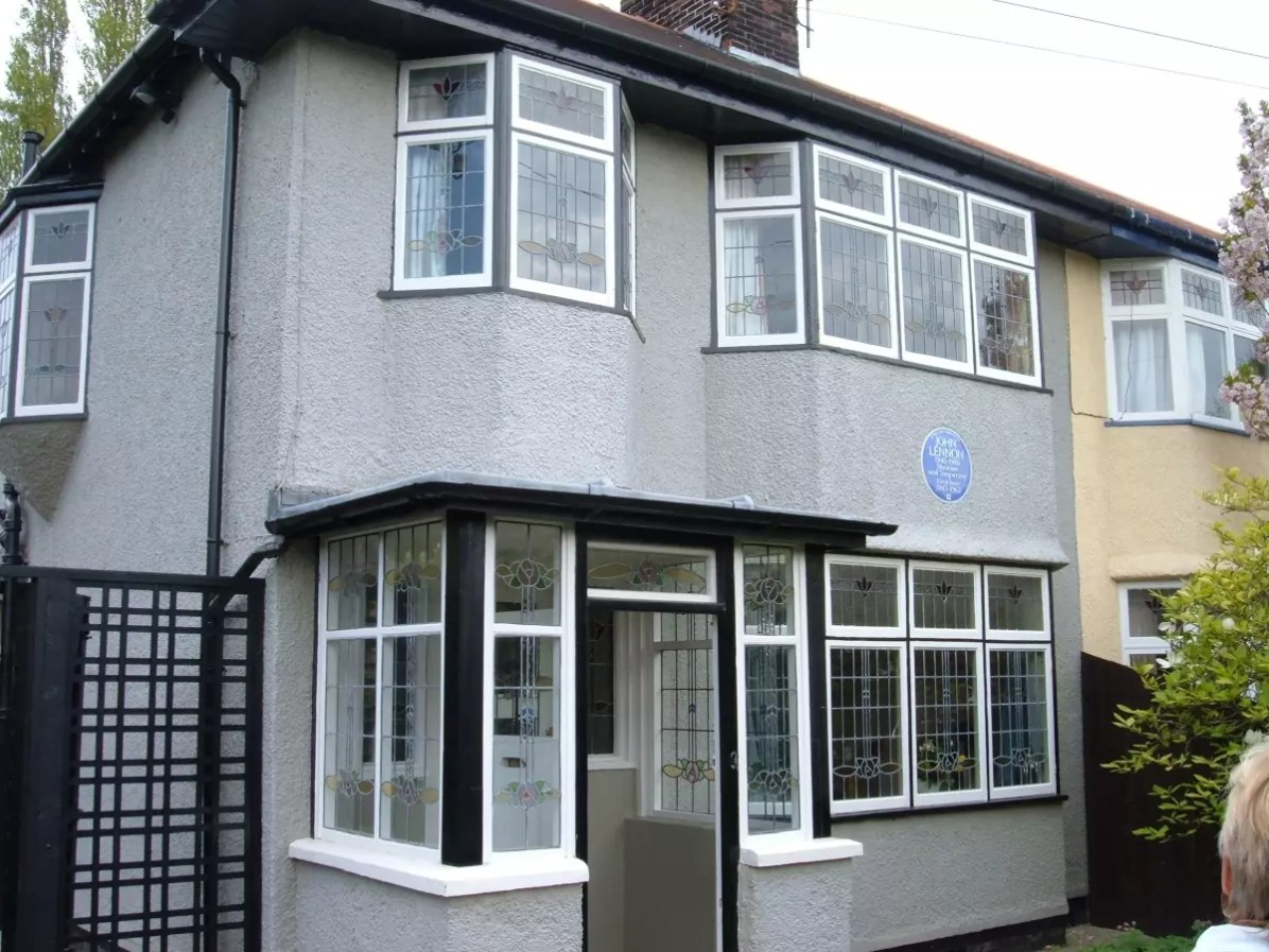 Beatles attractions in Liverpool - John Lennon's childhood home