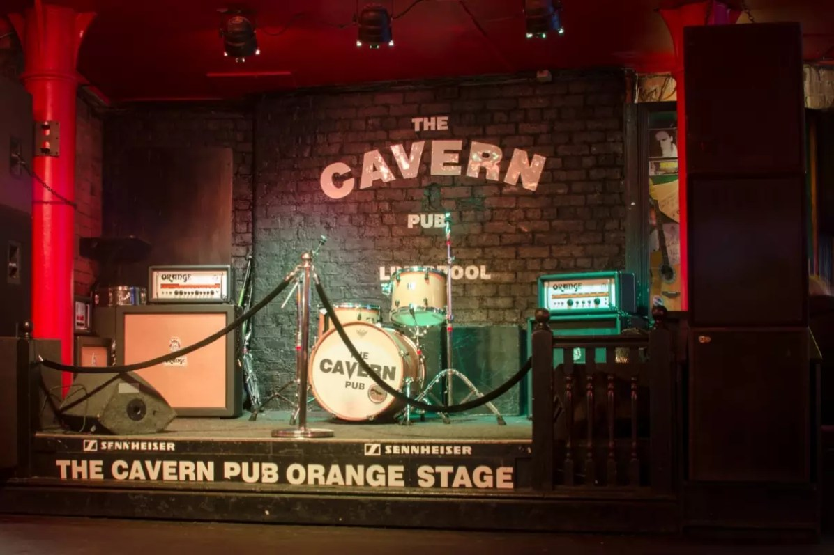 Beatles Attractions in Liverpool - The stage at The Cavern