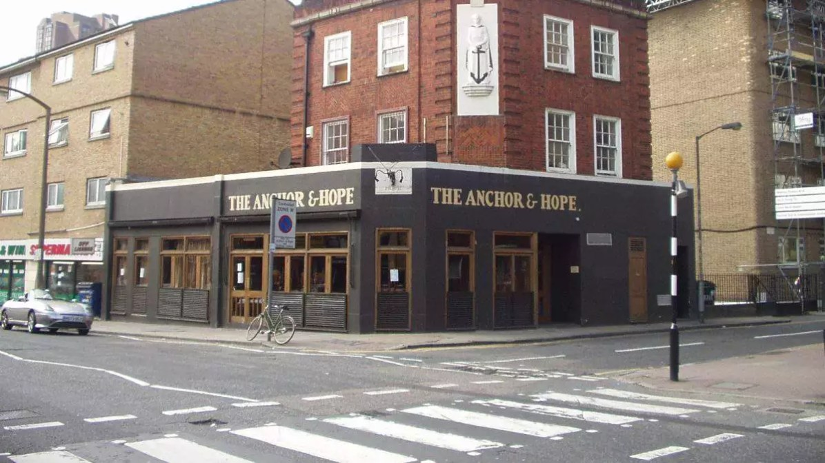Eat well in London - The Anchor & Hope - Photo credit: Bob Walker under CC BY-SA 2.0