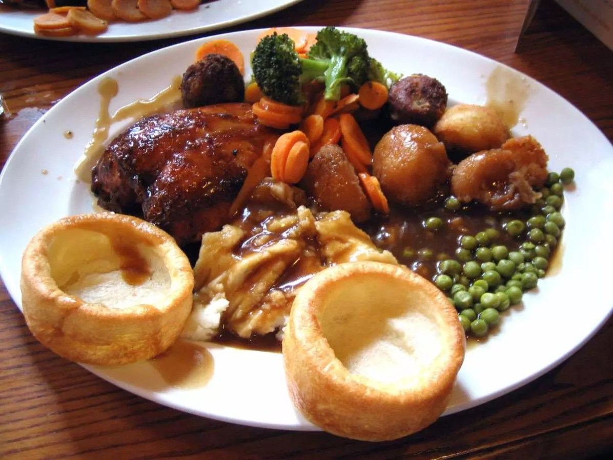 A Sunday Roast - Eat Well in London - Photo credit: Edinburgh Blog under CC BY 2.0