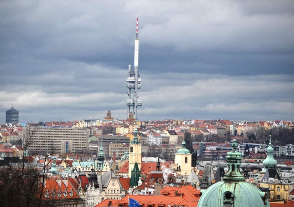 The Zizkov TV Tower - Photo credit: David Sedlecký under CC BY-SA 3.0 - see prague