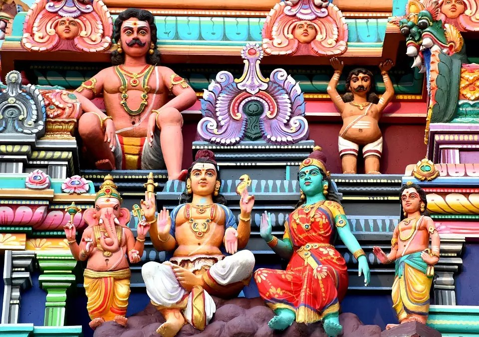 Bangalore is home to many beautiful temples and pilgrimage sites. (This is a copyright free photo) - Things to do in Bangalore Where to stay in Bangalore - Bangalore Travel Blog