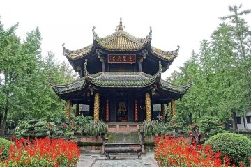 Things to do in Chengdu - Eight Trigram Pavilion, Chengdu - CC0 / Public Domain