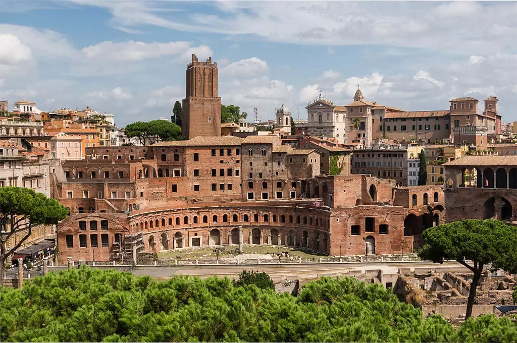 Trajan's Market Rome - CC0 / Public Domain - Things to do in Rome