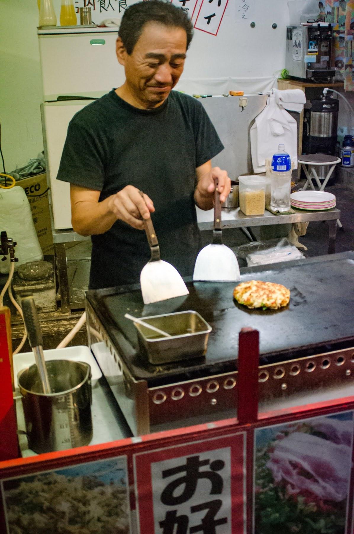 Where to Stay in Osaka- Osaka Travel Blog: Okonomiyaki - Things to do in Oaxaca