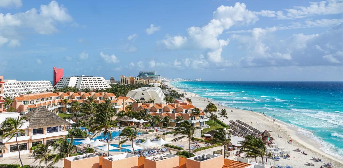 All-inclusive resort in Cancun Mexico