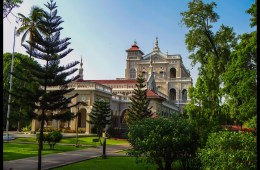 The Aga Khan Palace in Pune, India