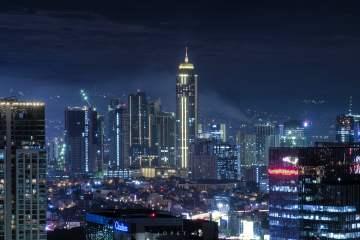 Makati Metro Manila Skyline