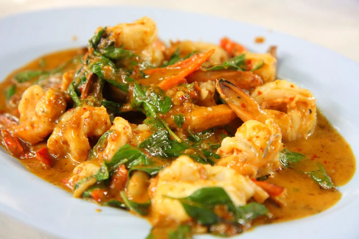 Prawns with Coconut Curry Sauce - photo by Lummmy under CC BY-ND 2.0