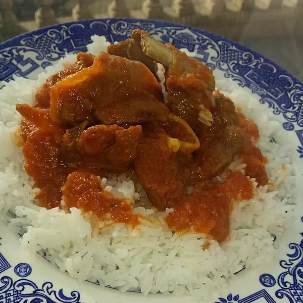 Anthony Bourdain Dominican Republic - Chivo guisado - photo by Honeybee5512 under CC-BY-SA-4.0