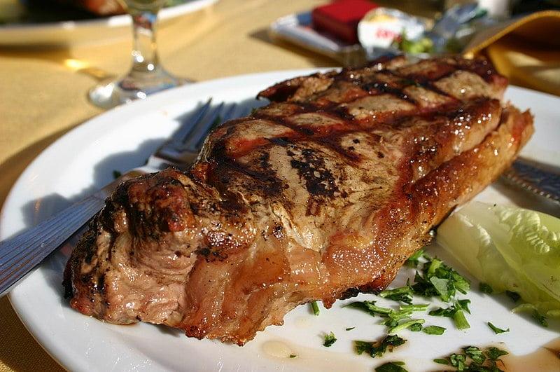 Anthony Bourdain Sydney - Argentine steak - photo by Chris Rault under CC-BY-3.0