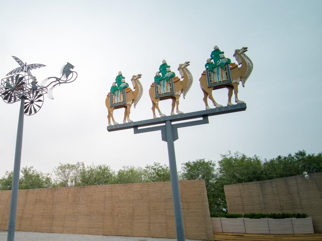 Les chameaux à l'honneur © Cedric Lizotte