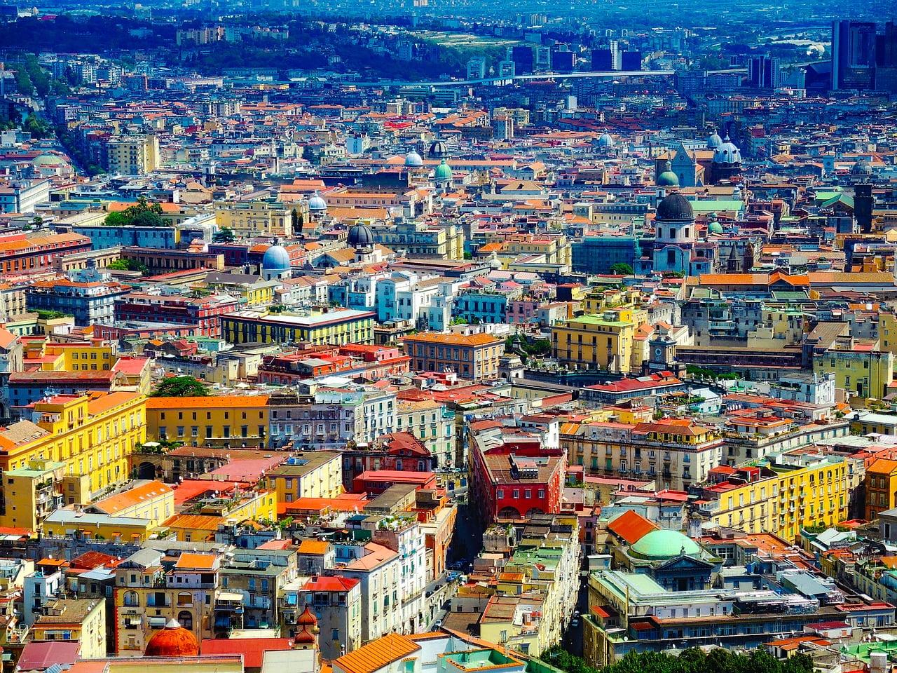 Naples, Italy - photo by David Mark under Pixabay License