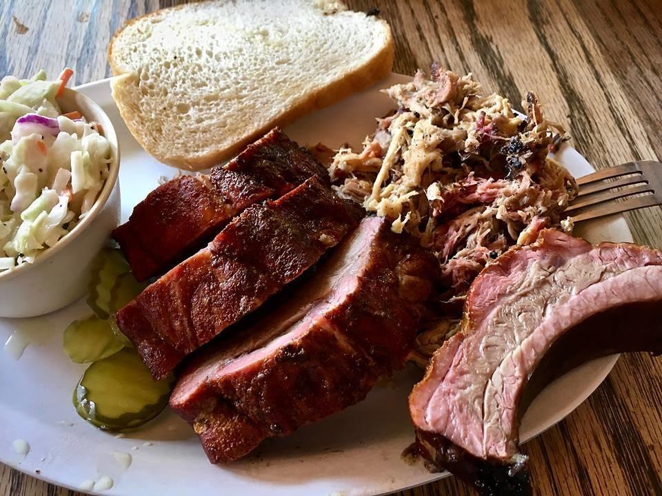 Smoked Pork Ribs - photo by Ernie Murphy under CC BY 2.0