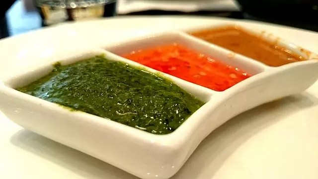 best Indian dishes- 3-Way Chutney - photo by Siddhantsahni28 under CC-BY-SA-4.0