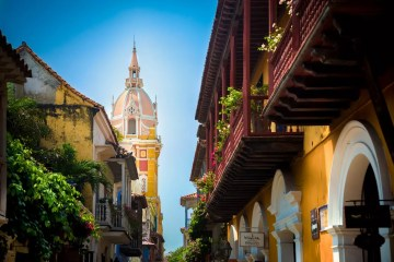 Cartagena, Colombia - photo by juniorlink under Pixabay License