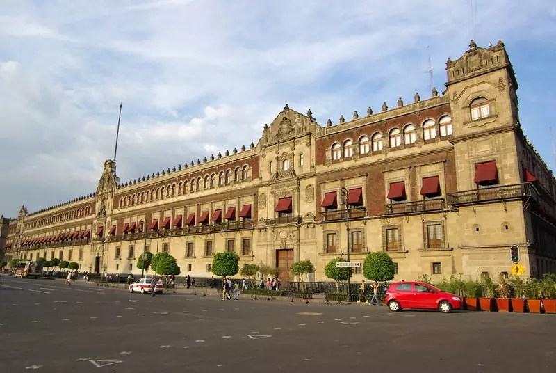 Palacio nacional de Mexico - photo by Antoine Hubert under CC BY-ND 2.0