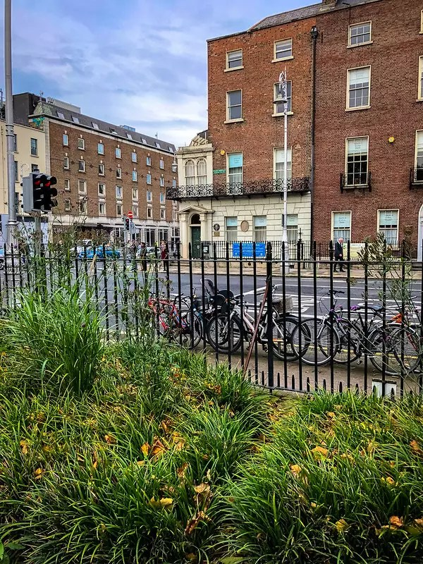 Oscar Wilde's house from Merrion Square, Dublin - photo by Andy Hay under CC BY 2.0