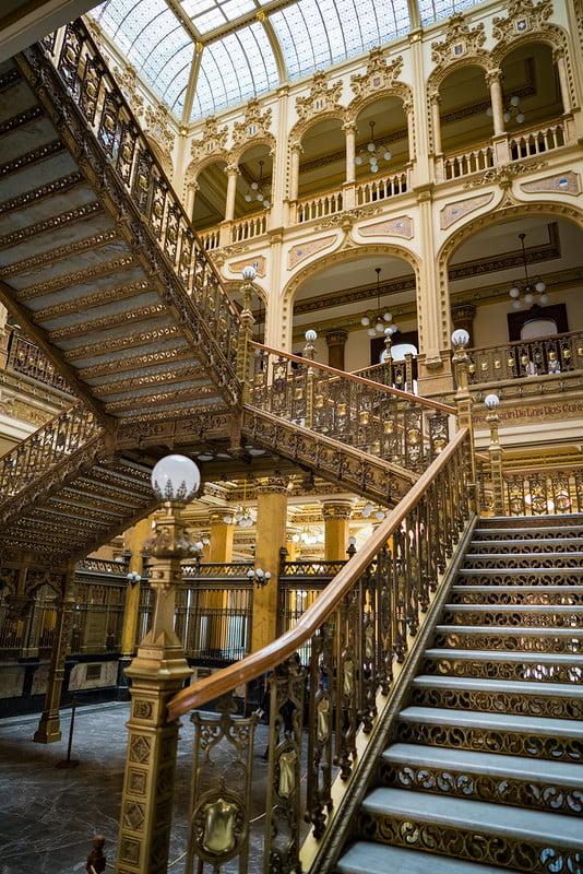 inside Palacio Postal - photo by Nan Palmero under CC BY 2.0
