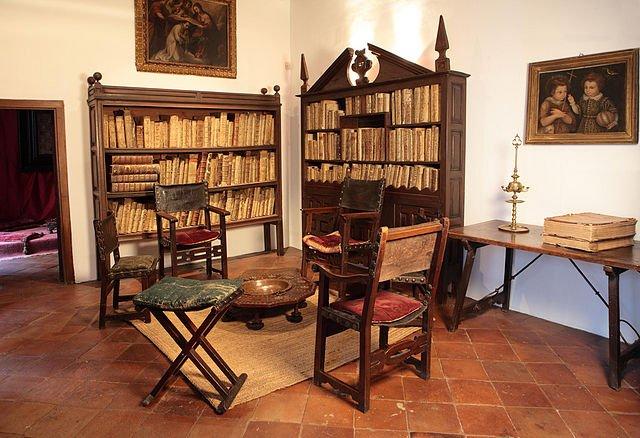 the study of Lope de Vega in the House Museum of Lope de Vega, in Madrid - photo by Turismo Madrid Consorcio Turístico under CC-BY-2.0