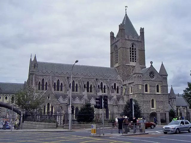Christ Church Cathedral, Dublin, Ireland - Photograph by Mike Peel (www.mikepeel.net) under CC-BY-SA-4.0