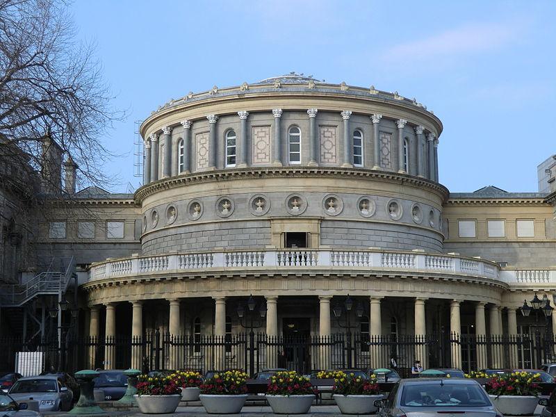 National Library of Ireland, Dublin - photo by YvonneM under CC-BY-SA-3.0