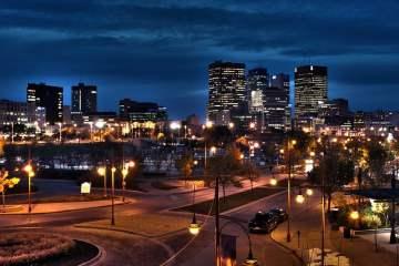 Downtown Winnipeg, Manitoba, Canada - photo by Robert Linsdell under CC BY 2.0