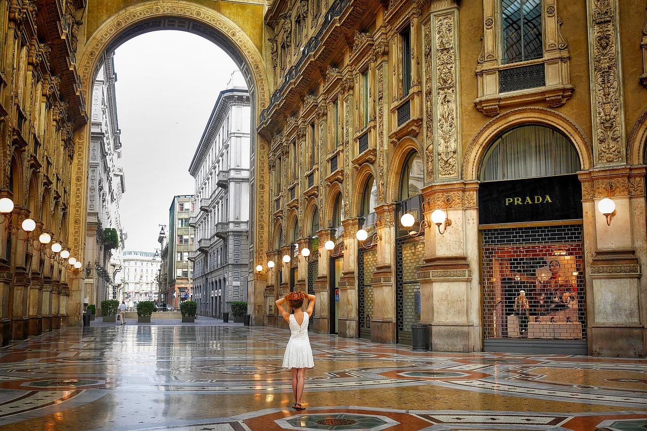 Milan, Italy - photo by Albrecht Fietz from Pixabay under Pixabay License