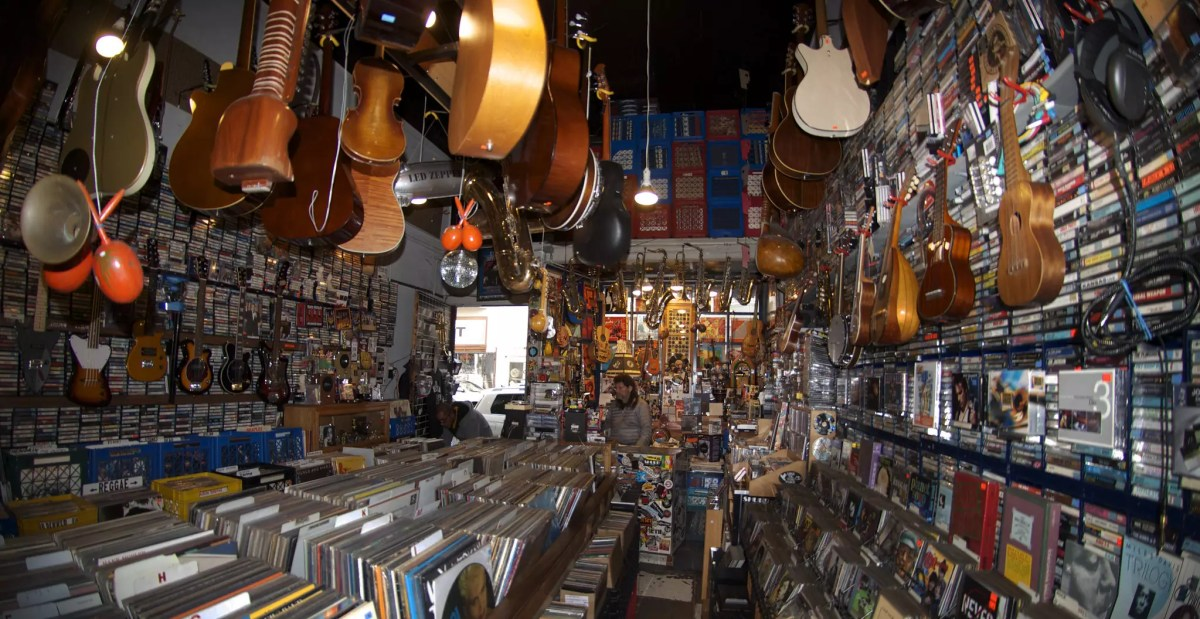 Inside 101 Music - photo by Michael Beaton under CC BY 2.0