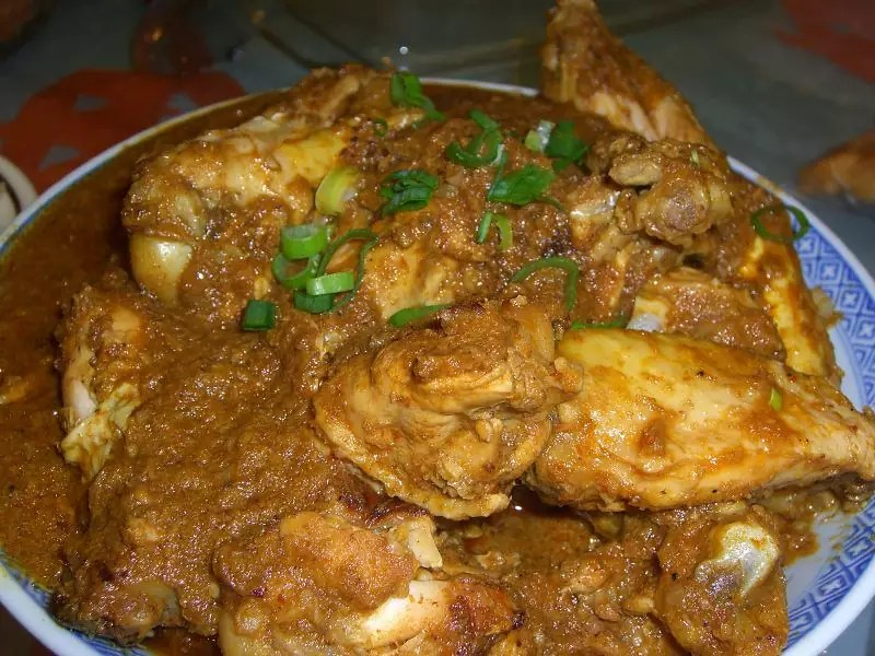 Rendang Chicken Wings - photo by Alpha under CC BY-SA 2.0